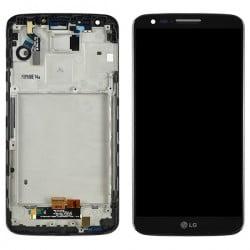 ECRAN LCD + VITRE TACTILE LG G2 D802 ORIGINAL NOIR