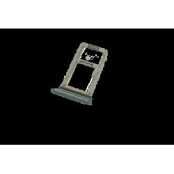 Trappe tiroir SIM et SD pour Samsung Galaxy A3 2017 bleu d'origine A320F