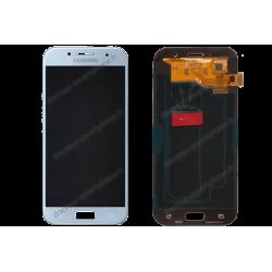Écran Samsung Galaxy A5 2017 bleu d'origine (SM-A520F)
