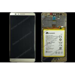 Écran complet avec batterie Huawei MATE 7 or d'origine