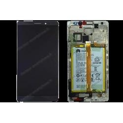 Écran original Huawei MATE 8 noir : LCD, vitre tactile et batterie