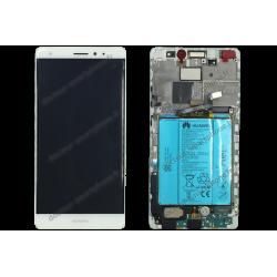 Bloc écran complet original pour Huawei MATE S blanc