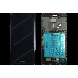 Écran LCD et vitre tactile Huawei MATE S noir d'origine