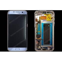 Écran complet Samsung Galaxy S7 EDGE bleu original - SM-G935F