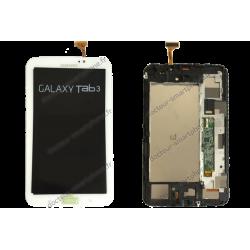 Écran complet Samsung TAB 3 7.0 blanc original T210