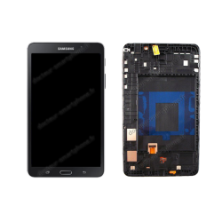 Écran tablette Samsung TAB 4 7.0 noir d'origine T230