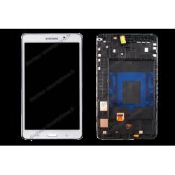 Écran complet tablette Samsung TAB 4 7.0 blanc d'origine T230