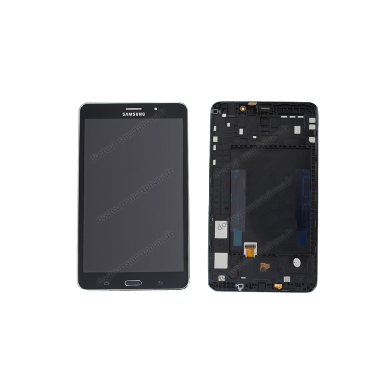 Cran complet samsung galaxy tab 4 lte 7 0 noir d 39 origine for Photo ecran samsung 7