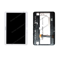 Écran LCD et vitre pour Samsung Galaxy TAB 4 10.1 blanc d'origine T530