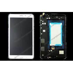Écran LCD + vitre Samsung TAB 4 8.0 LTE 4G blanc d'origine T335