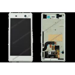 Écran complet pour Sony Xperia M5 blanc d'origine
