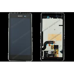 Écran LCD et vitre tactile pour Sony Xperia M5 noir original