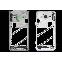 Châssis - contour central Samsung Galaxy J3 2016 gris d'origine SM-J320F