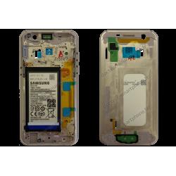 Châssis - contour d'origine Samsung pour Galaxy A3 2017 or (doré) A320F