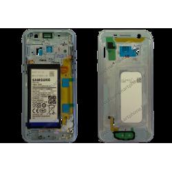 Écran LCD et vitre pour Samsung Galaxy A3 2017 bleu d'origine (SM-A320F)