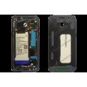 Châssis - contour Samsung Galaxy A5 2017 noir d'origine SM-A520F