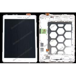 Écran Samsung Galaxy TAB A 9.7 blanc SM-T550 d'origine