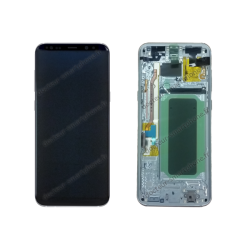 Écran LCD et vitre tactile d'origine Samsung pour Galaxy S8 Plus argent polaire G955F