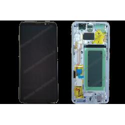 Écran LCD et vitre tactile Samsung Galaxy S8 argent / gris original G950F