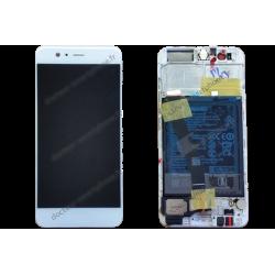 Bloc écran Huawei P10 blanc (argenté) d'origine VTR-L09