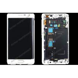 Écran Samsung Galaxy NOTE EDGE blanc - SM-N915F d'origine