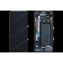 Écran LCD et vitre tactile Samsung Galaxy S8 PLUS noir d'origine