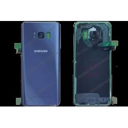 Vitre arrière pour Samsung Galaxy S8 orchidée original G950F