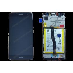 Bloc écran Huawei NOVA PLUS gris - titanium d'origine MLA-L11 / L01
