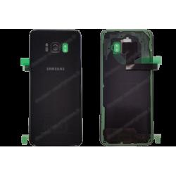 Vitre arrière Samsung Galaxy S8 noir d'origine G950F