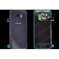 Vitre arrière pour Samsung Galaxy S8 PLUS orchidée original G955F