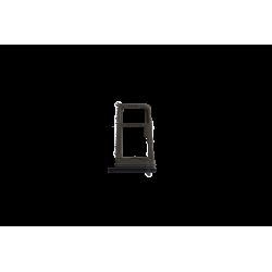 Tiroir SIM et SD Samsung Galaxy S8 PLUS noir carbone G955F