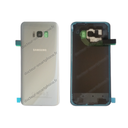 ECRAN SAMSUNG GALAXY S8 LCD + VITRE TACTILE NOIR D'ORIGINE