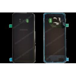 Vitre arrière Samsung Galaxy S8 PLUS noir d'origine G955F