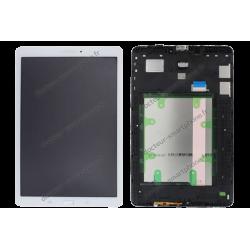 Écran Samsung Galaxy TAB E 9.6 blanc (T560/T561) d'origine