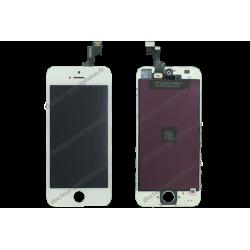 Écran iPhone SE - LCD + vitre tactile blanc - qualité retina