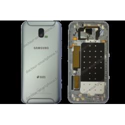 Cache arrière d'origine Samsung pour Galaxy J5 2017 gris - argent SM-J530F
