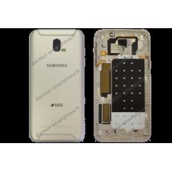 Coque arrière et contour Samsung Galaxy J5 2017 or original J530F