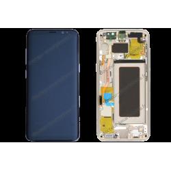 Écran LCD et vitre tactile Samsung Galaxy S8 or original G950F