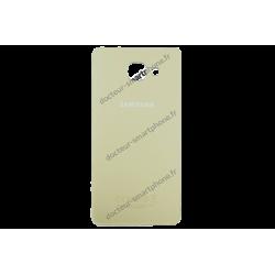 Vitre arrière pour Samsung Galaxy A3 2016 or d'origine SM-A310F