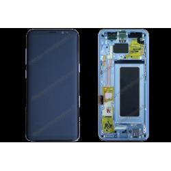Écran LCD et vitre tactile Samsung Galaxy S8 bleu d'origine G950F