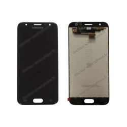 Écran LCD et vitre tactile Samsung Galaxy J3 2017 noir original J330F