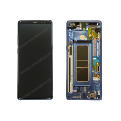 Écran LCD et vitre tactile Samsung Galaxy NOTE 8 bleu roi, N950F d'origine