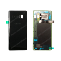 Capot arrière - vitre Samsung Galaxy NOTE 8 noir SM-N950F original