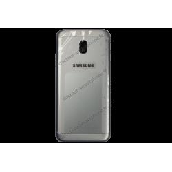 Cache arrière Samsung Galaxy J3 2017 gris - argent SM-J330F