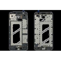 Châssis milieu Samsung Galaxy J3 2017 gris - argent SM-J330F
