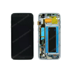 Écran Samsung Galaxy S7 EDGE noir LCD + vitre tactile d'origine SM-G935F