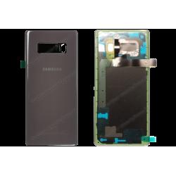 Vitre arrière pour Samsung Galaxy NOTE 8 gris - violet, N950F original