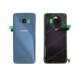 Vitre arrière pour Samsung Galaxy S8 bleu original G950F