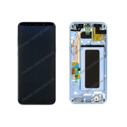 Écran complet Samsung Galaxy S8 Plus bleu d'origine G955F