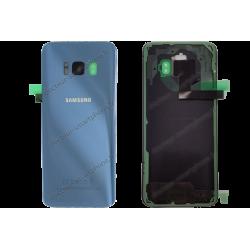 Vitre arrière pour Samsung Galaxy S8 PLUS bleu roi original G955F